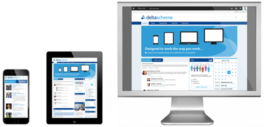 SharePoint responsive Intranet
